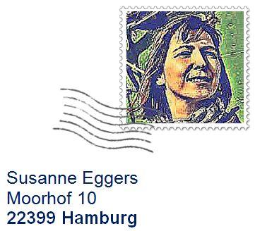 Susanne Eggers Briefmarke